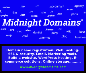 Ad for Midnight Domains.com opens in a new tab