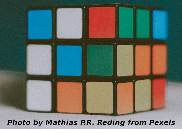 Photo of a Rubiks Cube