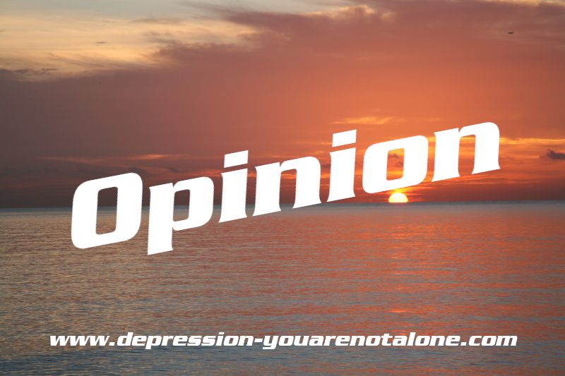 the word opinion over ocean sunrise with website url on bottom (copyrighted)